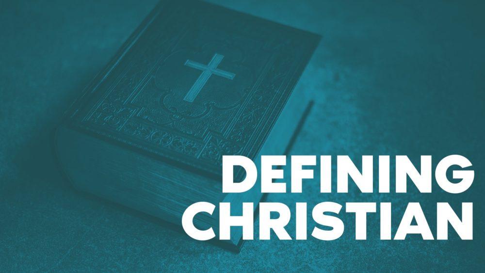 Defining Christian Image