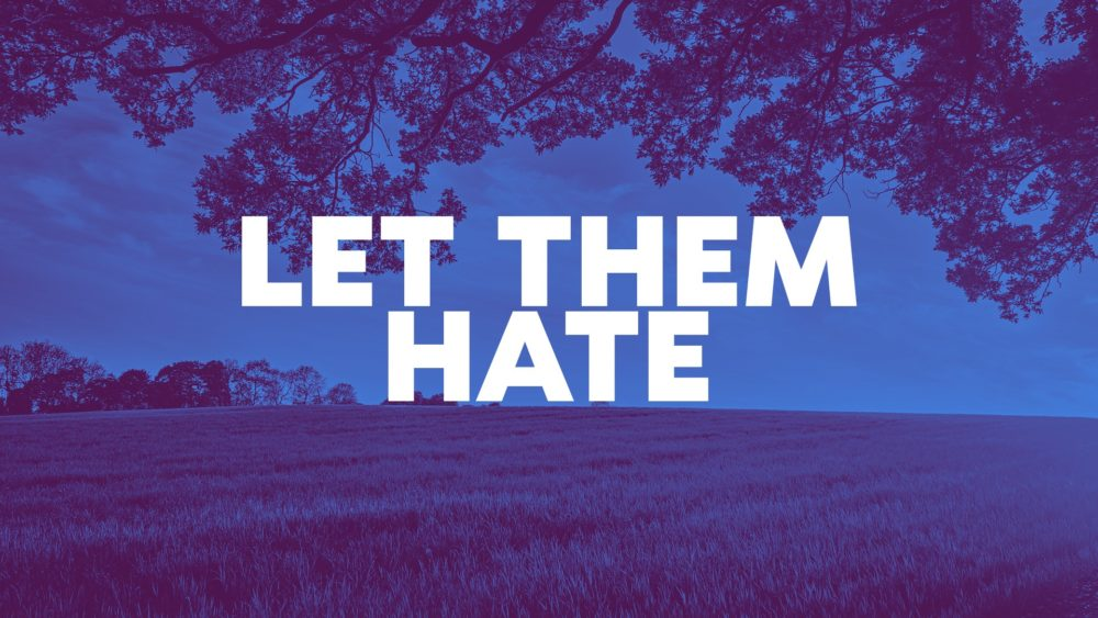 Let Them Hate Image