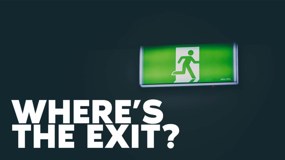 Where's the Exit? Image