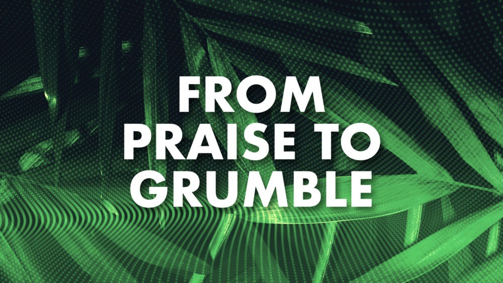 From Praise to Grumble Image