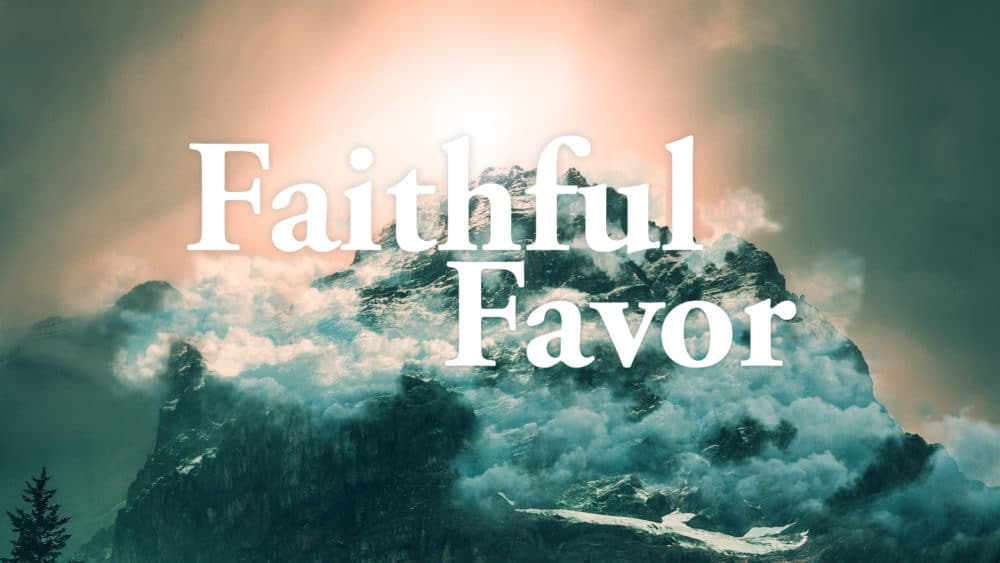 Faithful Favor Image