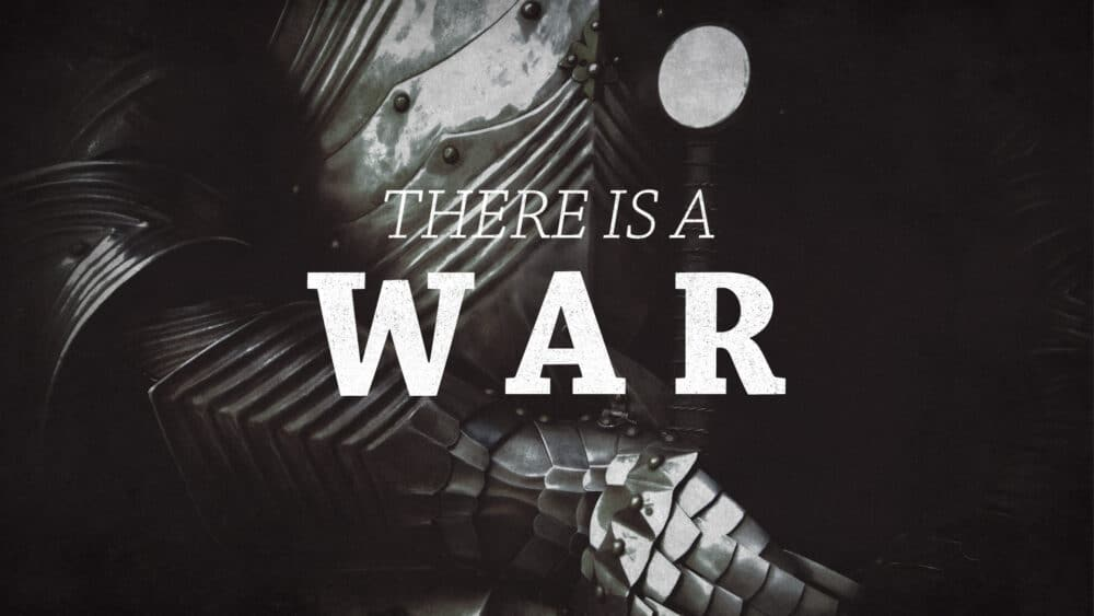 There is a War Image