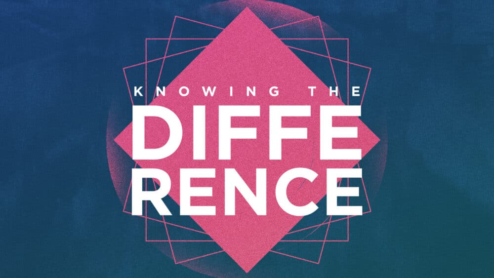 Knowing the Difference Image