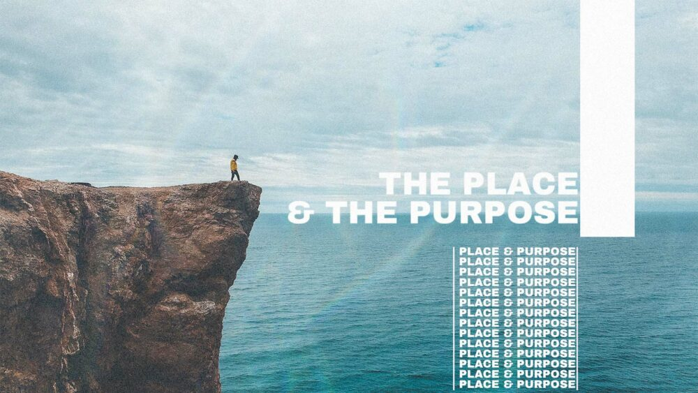 The Place and The Purpose Image