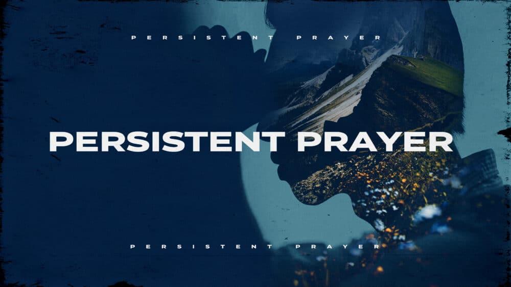 Persistent Prayer Image